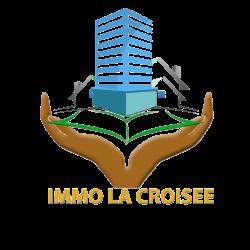 logo immo la croisée